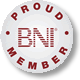 BNI Northumbria  Proud Member